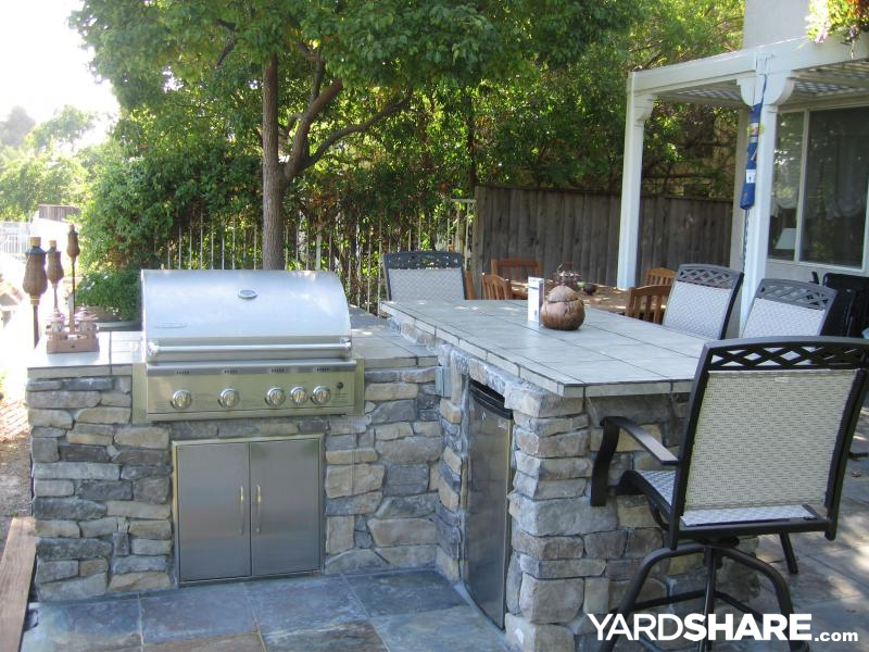 Landscaping Ideas Gt Bbq Bar With A View Yardshare Com