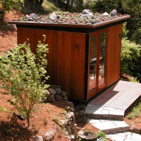 Photo Thumbnail #1: A Modern Cabana 10' x 12' art studio.  Has...