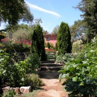 Photo Thumbnail #11: Le potager (kitchen garden)is the ante-garden...