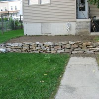 Photo Thumbnail #10: The stone wall.