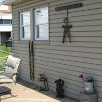 Photo Thumbnail #12: Some decorations on the unfinished deck.