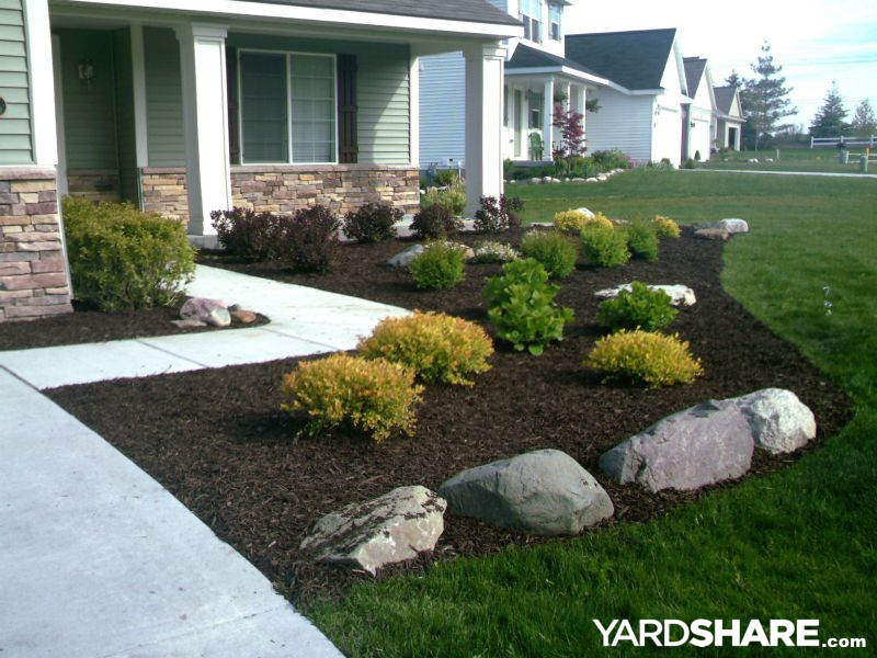 Landscaping Ideas Gt New Install Yardshare Com