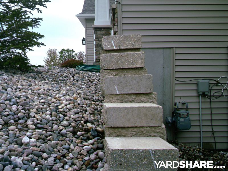 Fixing A Leaning Retaining Wall : Landscaping ideas gt retaining wall repair yardshare