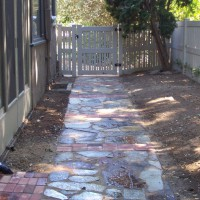 Photo Thumbnail #17: A recycled path made from materials removed...