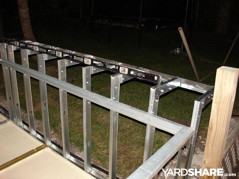 landscaping ideas my new bbq island. Black Bedroom Furniture Sets. Home Design Ideas