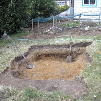 Photo Thumbnail #4: Top soil is only 4 inches deep. Sandy soil...