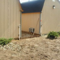 Photo Thumbnail #15: close up of back of barns before gates & pet...
