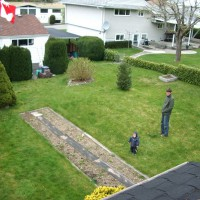 Photo Thumbnail #10: Bird's eye view of left side when lawn and...