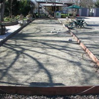 Photo Thumbnail #11: bocce ball court lengthwise from east to west.