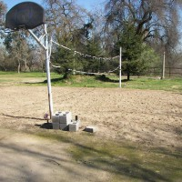 Photo Thumbnail #13: basketball hoop & volley ball court.