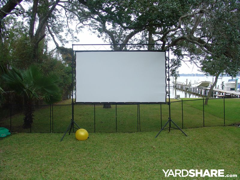 Landscaping Ideas Gt Outdoor Theater Yardshare Com