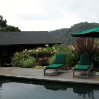 Photo Thumbnail #2: Bluestone paving around pool.