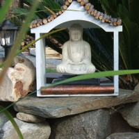 Photo Thumbnail #4: Budda watches over the Large Koi