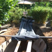 Photo Thumbnail #16: 24 X 15 EPDM liner is heavy.