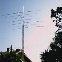 Photo Thumbnail #11: Amateur Radio, N9XT. This is my tower and...