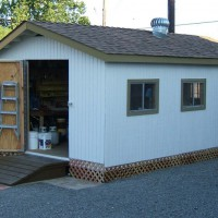 Photo Thumbnail #10: 11 X 20 Shed by JORDE. Ramp and door designed...