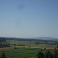 Photo Thumbnail #4: Farmland view seen from our hot tub
