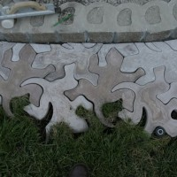 Photo Thumbnail #19: Nice cutting job with the tile saw. The geckos...