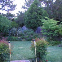 Photo Thumbnail #15: Backyard view from deck