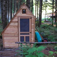 Photo Thumbnail #1: This 2009 photo of the garden shed shows the...