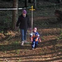 Photo Thumbnail #3: Our 2 1/2 year old granddaughter is fearless on...