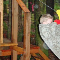 Photo Thumbnail #2: Thanksgiving 2008.  On the deck of the Kids'...