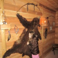 Photo Thumbnail #27: All the kids LOVE to feel the bear pelt.