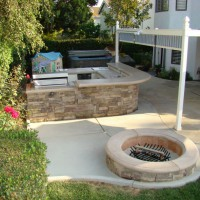 Photo Thumbnail #17: Cultured stone on the outside finished off the...