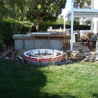 Photo Thumbnail #5: Next came the patio cover then the outdoor...