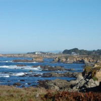 Photo Thumbnail #22: View from Mendocino Botanical Gardens,...