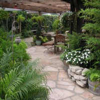 Photo Thumbnail #7: Front Patio from Pond
