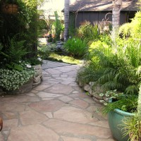 Photo Thumbnail #8: Front Patio Path to Pond