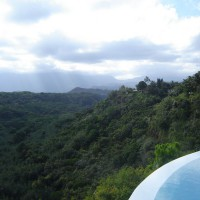 Photo Thumbnail #4: From our pool we are able to view the majestic...