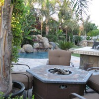 Photo Thumbnail #2: Cozy firepit for those very few chilly nights,...