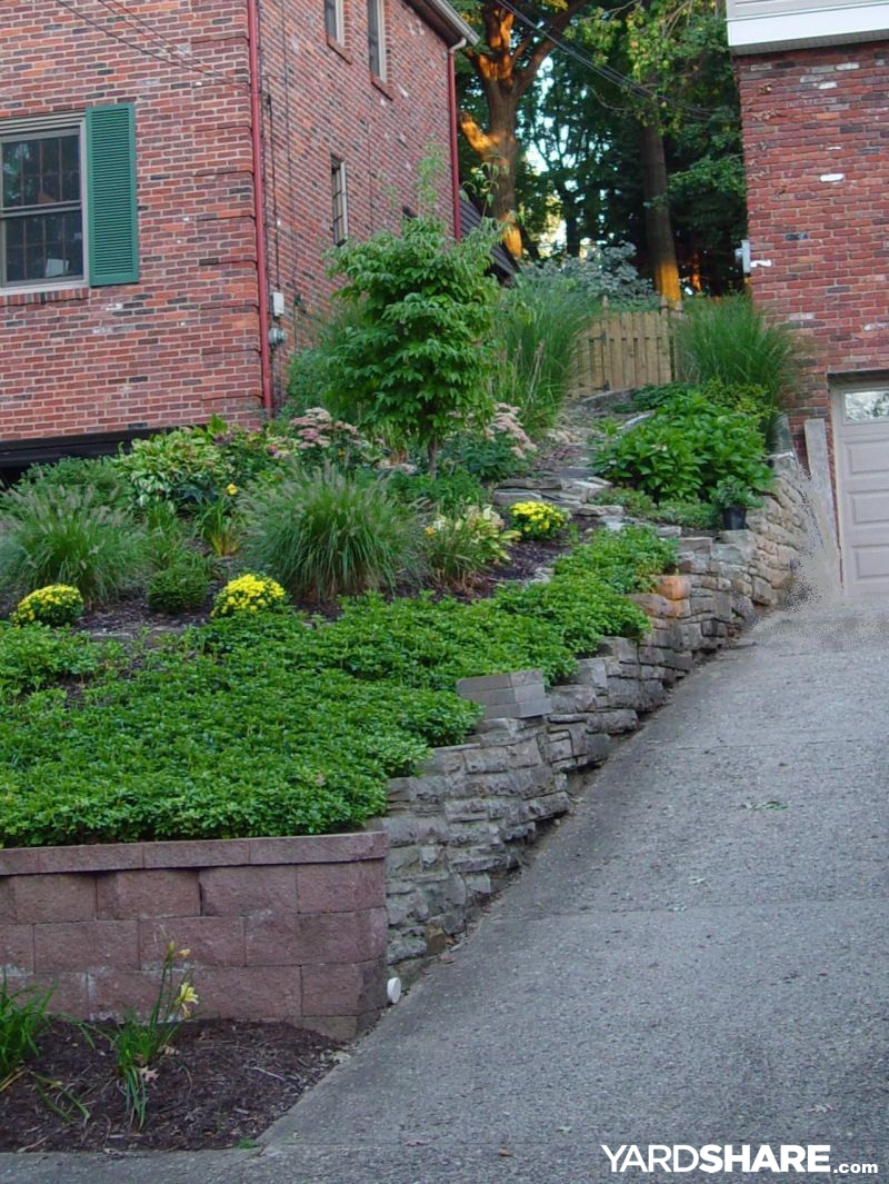 Landscaping Ideas For A Sloped Front Yard Part - 47: Front Yard Slippery Slope Solution