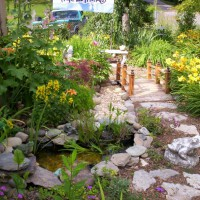 Photo Thumbnail #4: Entrance to memory garden on the right side of...