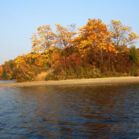 Photo Thumbnail #14: one of three little islands on the lake.