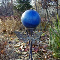 Photo Thumbnail #29: This gazing ball my Grandchildren cannot break.