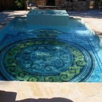 Photo Thumbnail #5: Hand-painted Italian tile by internationally...