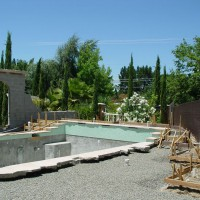 Photo Thumbnail #3: Before picture of pool area in progress