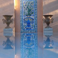 Photo Thumbnail #2: French copper walls, hand-painted Italian tile,...