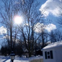 Photo Thumbnail #15: A winter sky