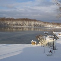 Photo Thumbnail #14: Ice forming on the lake
