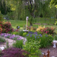 Photo Thumbnail #6: AFTER Spring 2008 memory garden and entrance to...