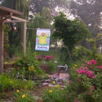Photo Thumbnail #1: Entering memory garden from front yard. I added...