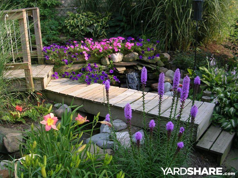 Landscaping ideas my garden pond for Flower garden ponds