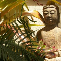 Photo Thumbnail #5: Buddah purchased for $50.00 because his head...