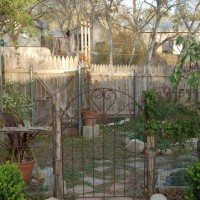 Photo Thumbnail #3: This is our entrance to the garden area where...