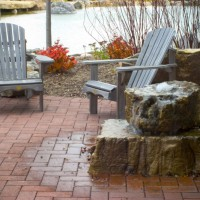 Photo Thumbnail #8: Previous patio with RainXchange rainwater...