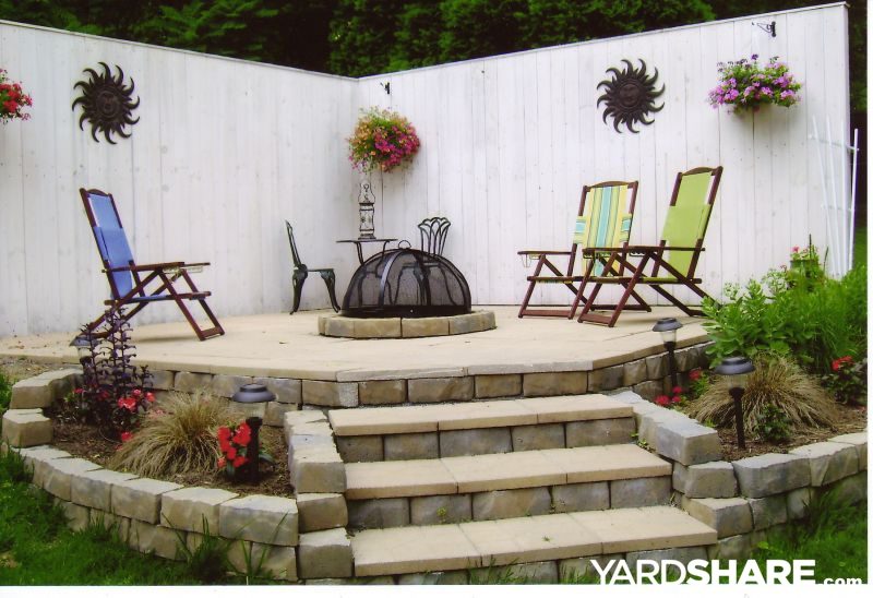 landscaping ideas roxi 39 s firepit patio
